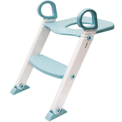 Redutor de Assento Sanitário com Degrau Azul Baby - Buba