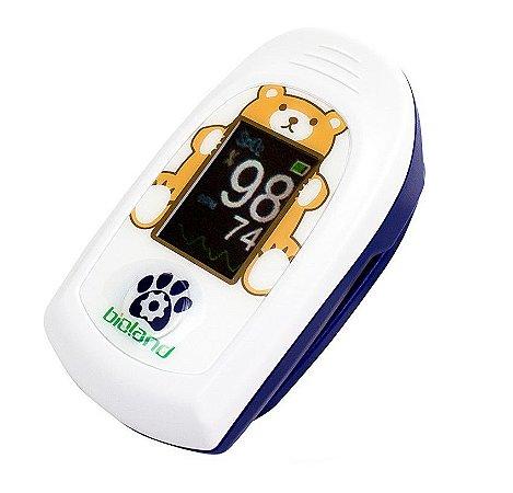 Oxímetro de Dedo Portátil Infantil AT1O1C Kids - Bioland