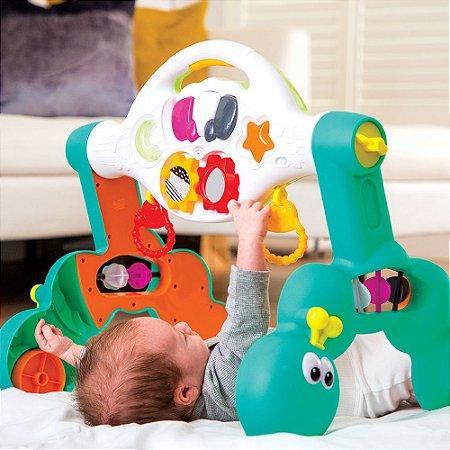 Andador e Apoiador Com Barra Multiatividades que Cresce com o Bebê 3 em 1 - Infantino