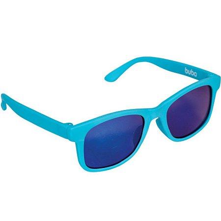 Óculos de Sol Baby com Armação Flexível e Proteção Solar Azul - Buba