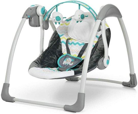 Cadeira de Descanso Automática Plush Toys Verde - Mastela
