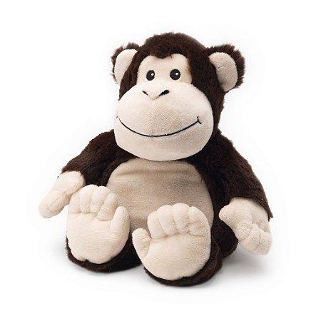 Pelúcia Térmica para Alívio das Cólicas e Aconchego com Aroma Calmante Macaco - Cozy Plush