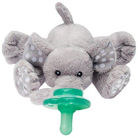 Paci Plushies Nookums Elefante Ella - Prendedor de Chupeta Universal