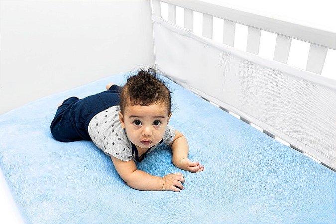 Protetor de Berço Tela Respirável Air Baby Branca - Kababy