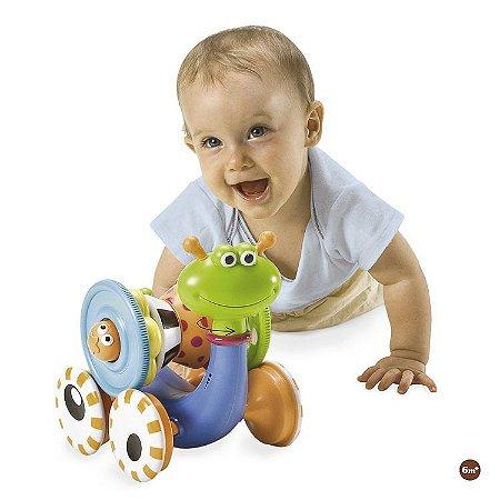Brinquedo Caracol Divertido Crawl N' Go Snail - Yokidoo