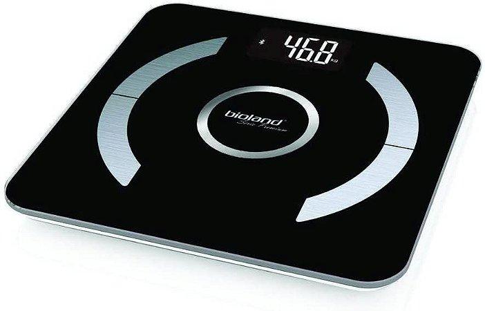 Balança Digital Bluetooth de Vidro com Análise Corporéa - Bioland