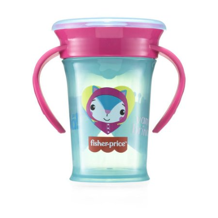 Copo de Treinamento 360 First Moments Rosa Candy - Fisher Price