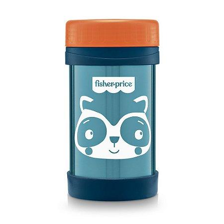 Pote Térmico Aço Inox Hot & Cold Azul Blueberry - Fisher Price