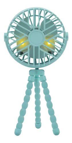 Mini Ventilador para Berço e Carrinho Azul - Buba