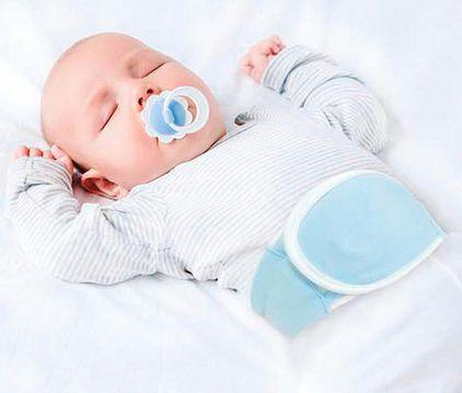 Cinta Térmica para Cólica Baby Azul - Buba