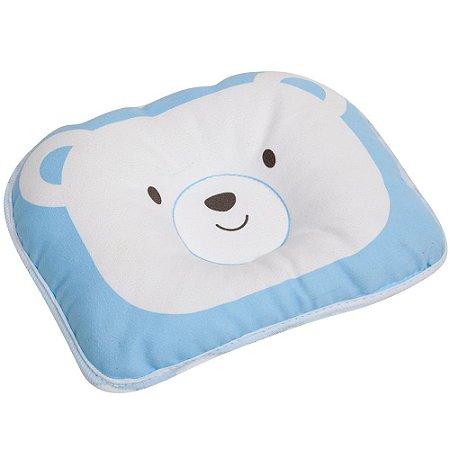 Travesseiro para Bebê Urso Azul - Buba