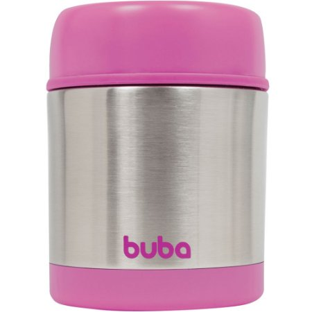 Pote Térmico Inox Rosa - Buba