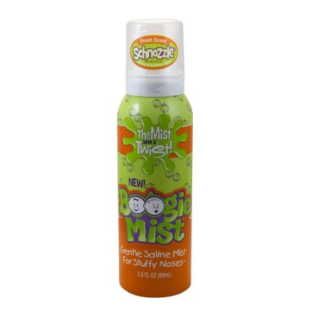 Boogie Mist - Spray Nasal Fresh Scent Anti Resfriado 59ml (Menta)