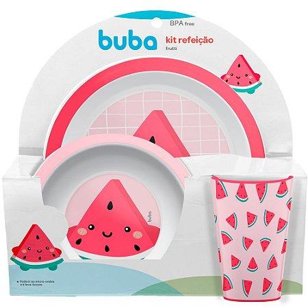Kit Refeição Frutti Melancia - Buba
