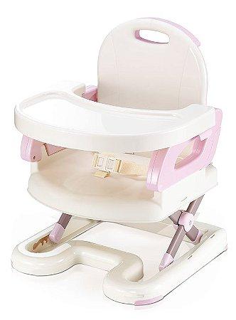 Cadeira de Alimentação Premium Portátil Rosa - Mastela