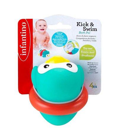 Brinquedo de Banho Pinguim Nadador - Infantino