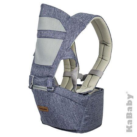 Canguru Seat Air Azul Mescla - Kababy