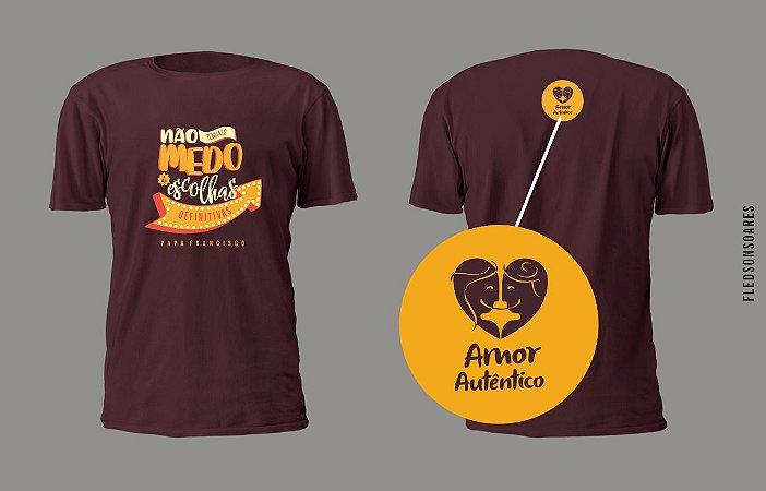Camiseta Oficial do II Congresso Amor Autentico Brasil 2019
