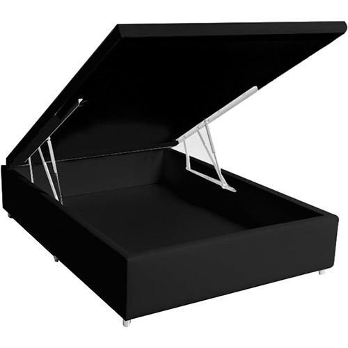 BOX BAÚ CORINO PRETO