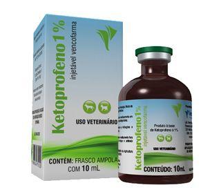 KETOPROFENO 1% 10 ML AMPOLA