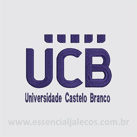 BORDADO UNIVERSIDADE CASTELO BRANCO