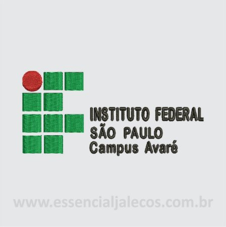 BORDADO INSTITUTO FEDERAL