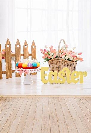 Fundo Fotográfico em Tecido Easter