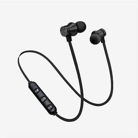 Fone de Ouvido XT11 sem Fio com Bluetooth Subwoofer / Headphone com Microfone e Alça de Pescoço