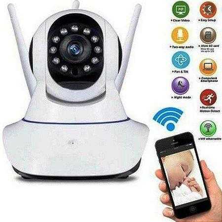 Baba Eletrônica P2P Câmera Wifi C/Visão Noturna C/Microfone Monitorar seu bebe