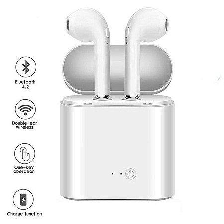 Fone De Ouvido Bluetooth Sem Fio Mini I7s Tws