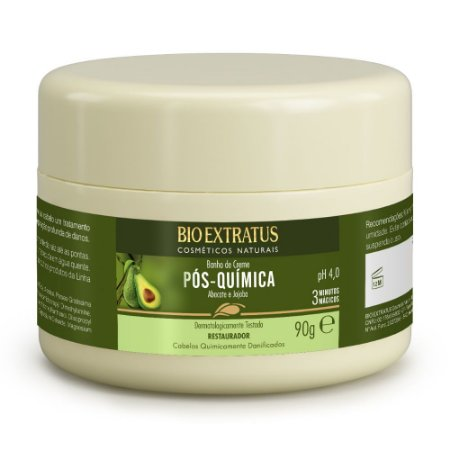 Banho de Creme Pós Química 90g Bio Extratus