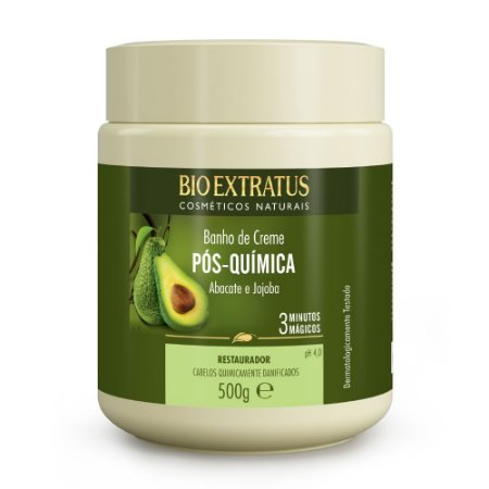 Banho de Creme Pós Química 500g Bio Extratus
