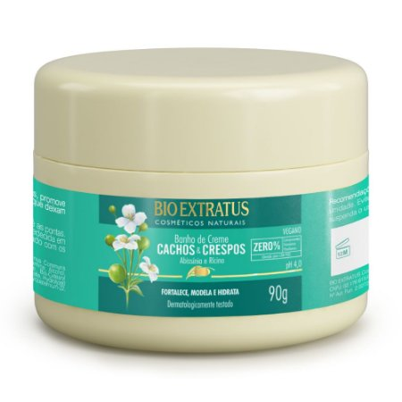 Banho de Creme Cachos & Crespos 90g Bio Extratus