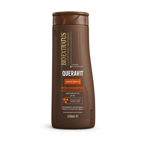 Pós Shampoo Queravit 250ml Bio Extratus