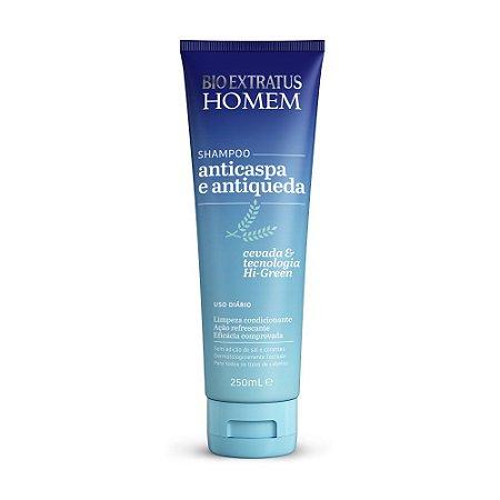 Shampoo Homem Anticaspa e Antiqueda 250ml Bio Extratus