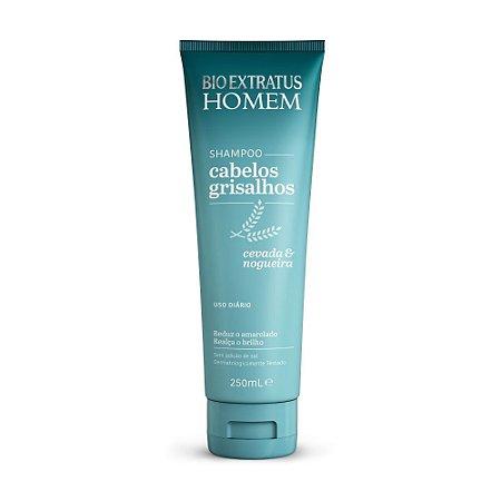 Shampoo Homem Cabelos Grisalhos 250ml Bio Extratus
