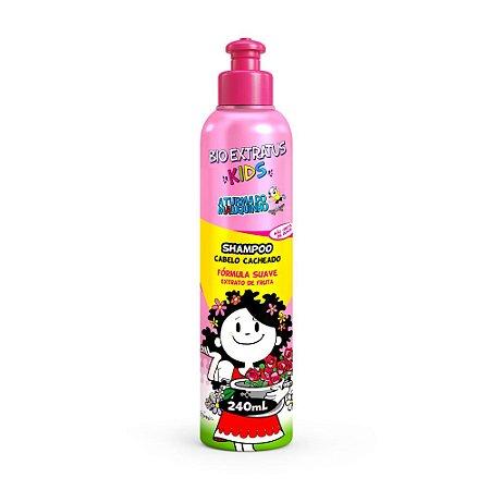 Shampoo Kids Cabelo Cacheado 240ml Bio Extratus