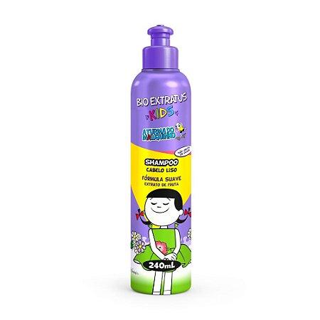 Shampoo Kids Cabelo Liso 240ml Bio Extratus