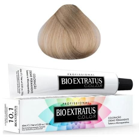Coloração Bio Extratus Color 60ml 10.1 - Louro Claro Acinzentado