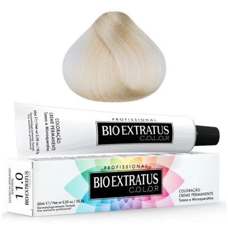 Coloração Bio Extratus Color 60ml 11.0 - Louro Platinado Natural