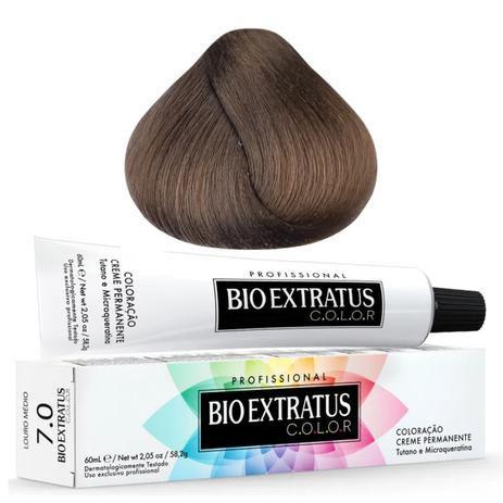 Coloração Bio Extratus Color 60ml 7.0 Louro Médio