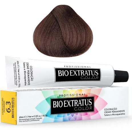 Coloração Bio Extratus Color 60ml 6.3 Louro Escuro Dourado