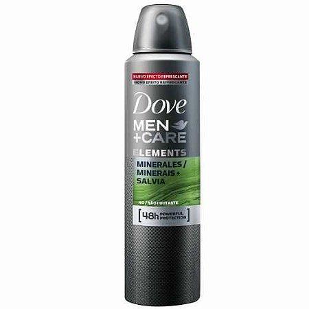 Desodorante Dove Aerosol Men Care 150ml Salvia