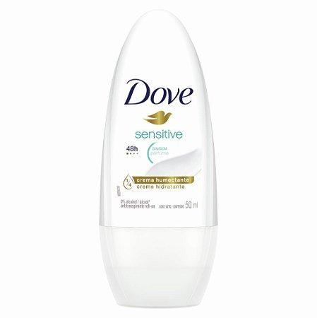 Desodorante Dove Roll-on 50ml Sensitive