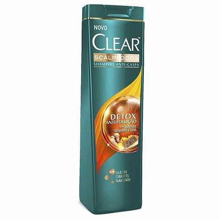Shampoo Clear Detox Poluição 200ml