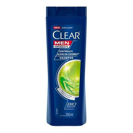 Shampoo Clear Anti Coceira Bio Booster 200ml