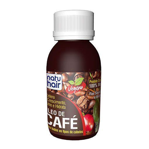 Óleo Para Cabelo Café 60ml Natuhair