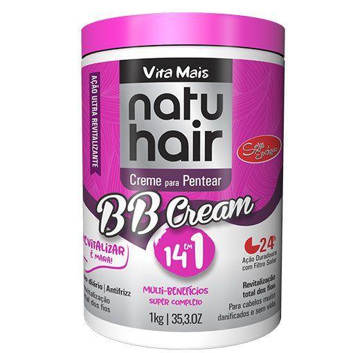 Creme de Pentear 1kg BB Cream Natuhair