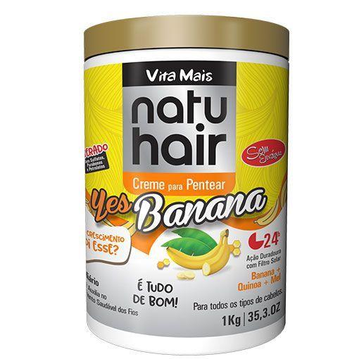 Creme de Pentear 1kg Yes Banana Natuhair