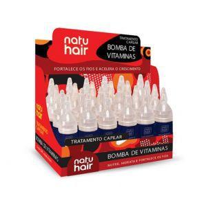 Tratamento Capilar 10ml Bomba de Vitaminas Natuhair (Unidade)
